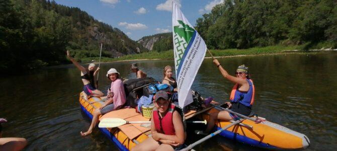 Сплав по реке Белая (Юные туристы-краеведы)
